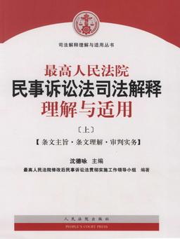 最高人民法院民事诉讼法司法解释理解与适用(上)