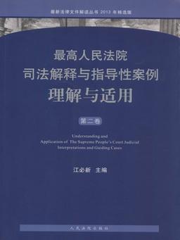最高人民法院司法解释与指导性案例理解与适用(第二卷)
