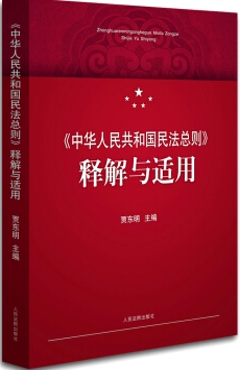 《中華人民共和國民法總則》釋解與適用